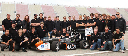 OSU Global Formula Racing Team 2012