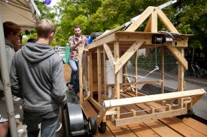 Automated mobile chicken coop