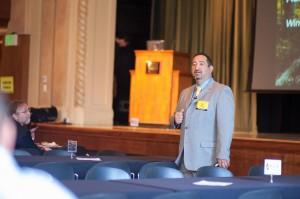 Keynote speaker Pat Sánchez, superintendent of Adams County School District 14