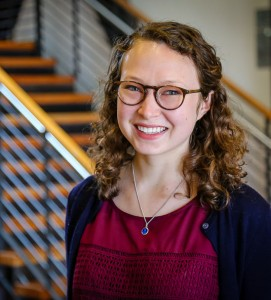 Elizabeth Holzenthal, Ph.D. candidate in civil engineering.