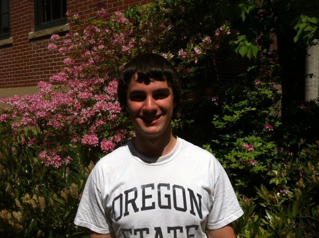 Undergraduate of the Quarter - Spring 2012