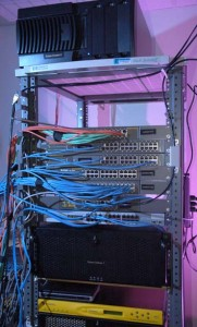 Network switches and cables