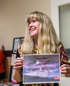 Shari awarded at the Open House