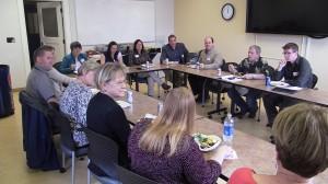 PFLA Mentoring Lunch