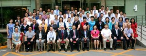 2014 International Conference on China-US Open and Distance Education group photo.