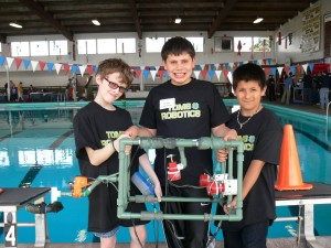 4-H Science Project at Pool