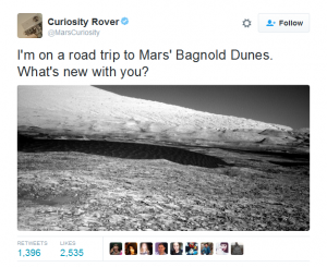 NASA Funny Tweet