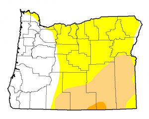 Drought map May 2016_National Drought Mitigation Center