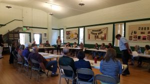 Dialogue and deliberation during a September 2016 community meeting OSU Extension convened in Corbett, Oregon