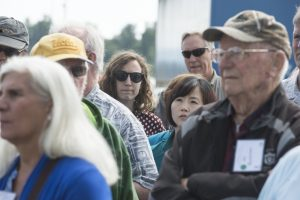 Clatsop Commercial Fisheries Tour, May 2017. Photo: Stephen Ward