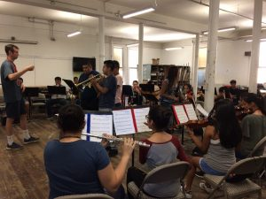 Mariachi STEAM Summer Camp rehearsal, summer of 2017. Photo: Ann Murphy.