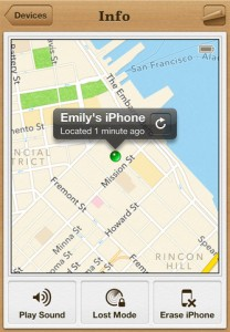 Apple's Find My Phone app