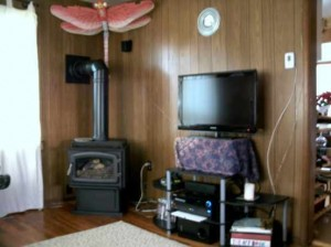 """Take a look at """"Just moved in"""" page and you'll see the old heat stove."""