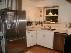 """picture of kitchen """"before"""""""