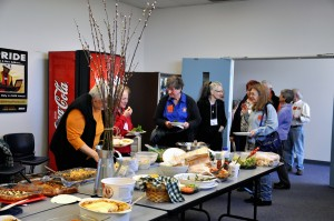 Master Gardener lunch (Photo by Denise Ruttan)