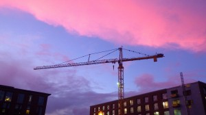 Construction Crane @ OSU - Dec.14
