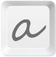 aText logo
