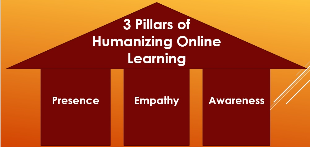 3 Pillars Of Humanizing Online Learning: Presence, Empathy & Awareness
