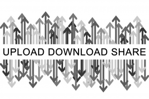 Upload Download Share logo