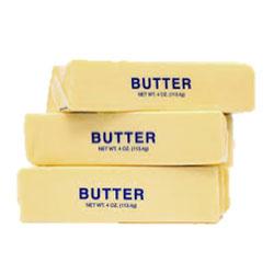 sticks of butter yummm