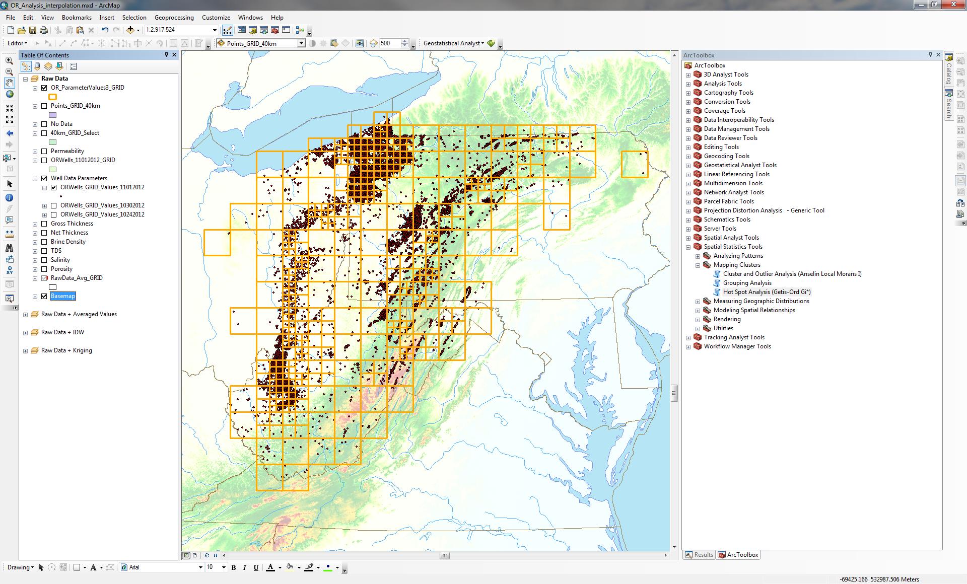Geospatial Analysis of Natural and Engineered Data GEO 599