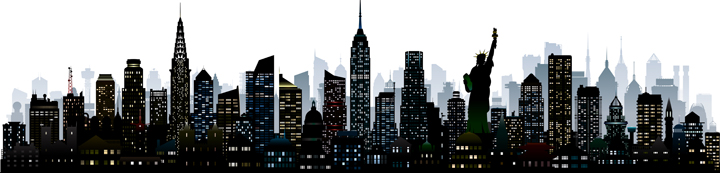 New York City Skyline (graphic)