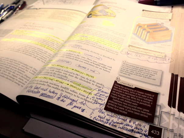 How do you study a textbook properly?