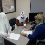 Certifying on Halloween