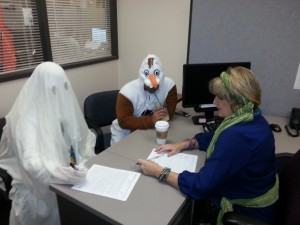 Certifying on Halloween