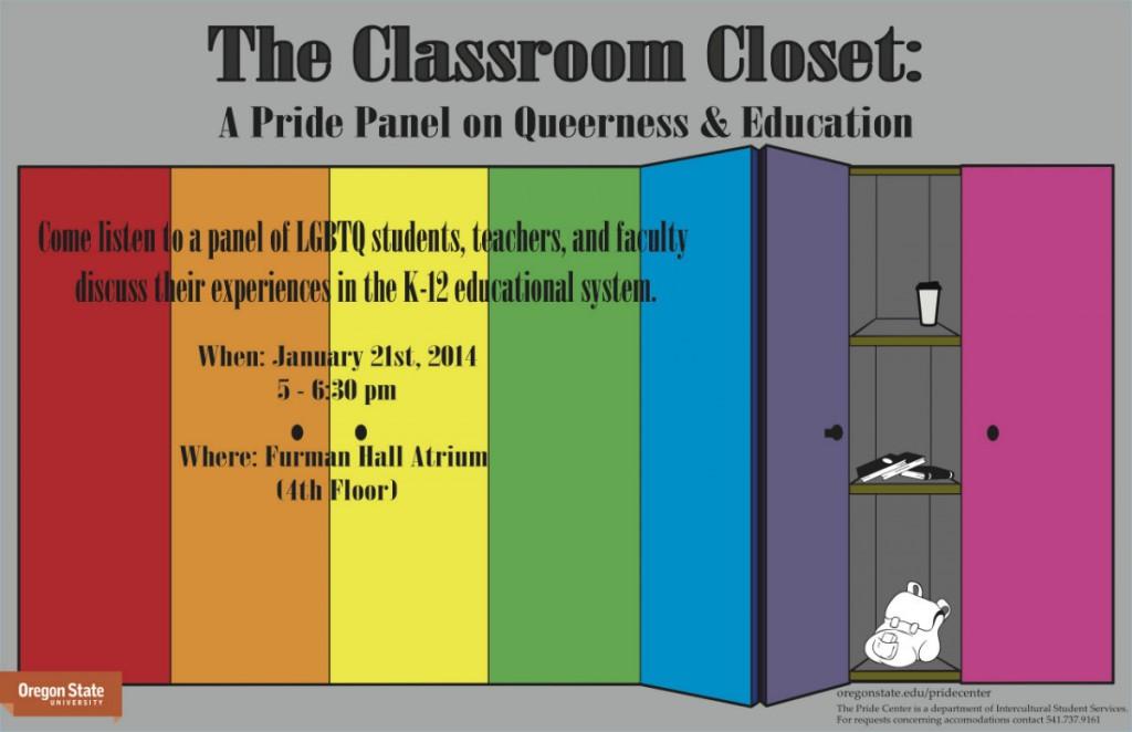 CLASSROOM CLOSET poster