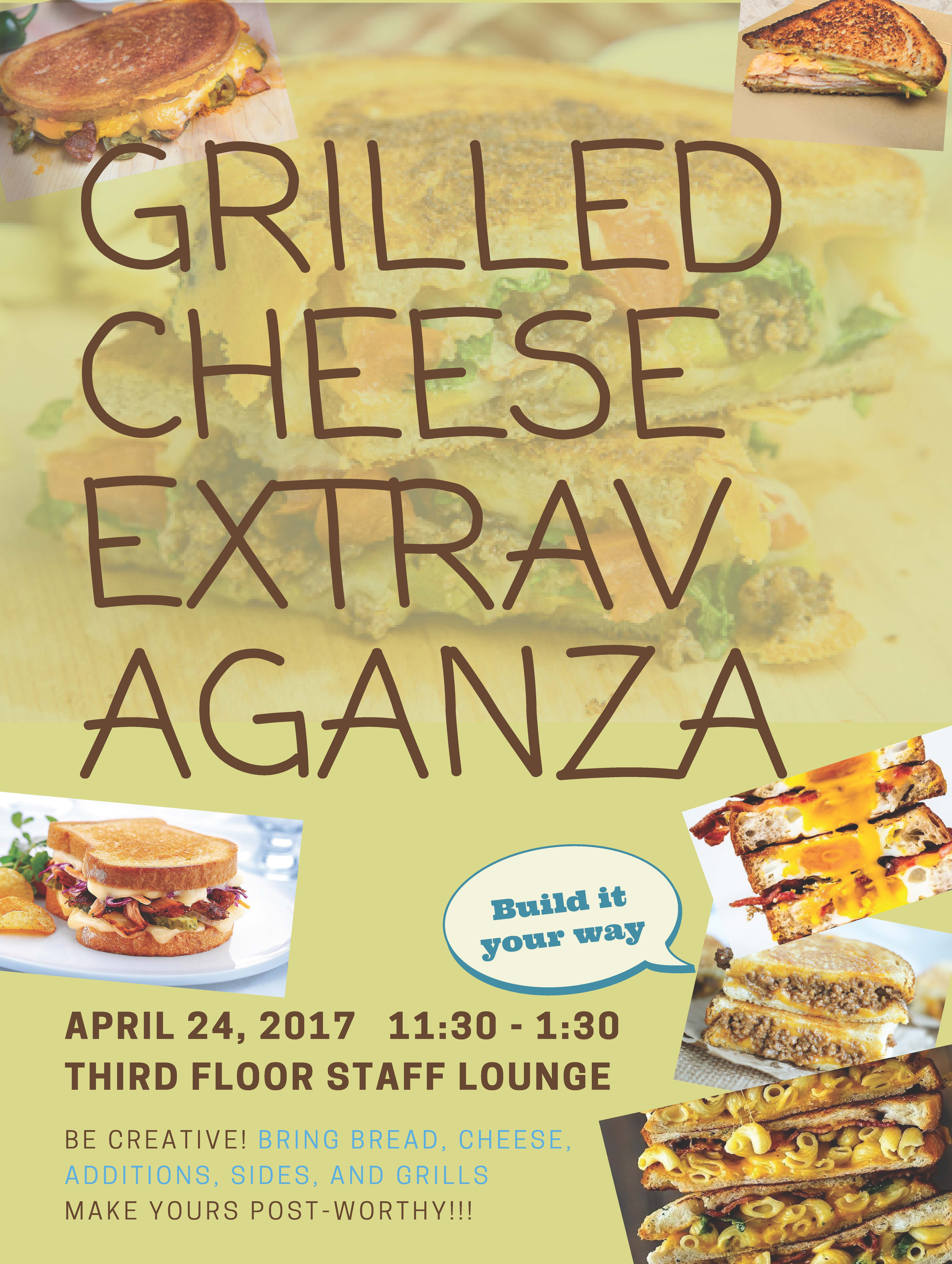 Grilled Cheese Extravaganza
