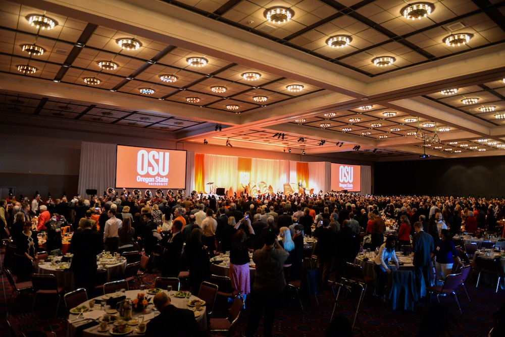 State of the University Ballroom photo credit: Tyler Moss, Oregon State University