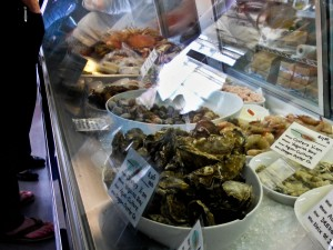 Fresh seafood at Local Ocean in Newport