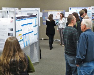 Student poster session, Heceta Head Coastal Conference