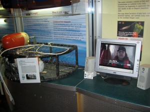 New gear retrieval exhibit at HMSC