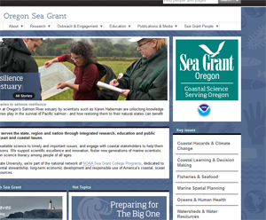 New Sea Grant Website