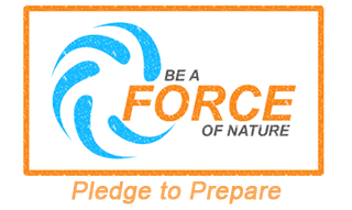 Be a Force of Nature - Pledge to Prepare