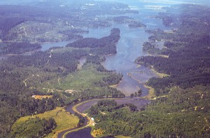 OSU engineer is studying estuary flooding in the Coos Bay estuary (pictured here) and the Tillamook Bay estuary.