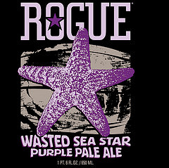 Rogue Wasted Sea Star Ale label