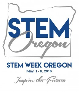 STEM Week Oregon logo