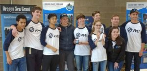 "Students from Valor Christian School International in Beaverton placed first in the ""Ranger"" advanced level of an underwater robotics contest in Lincoln City on April 20, 2019."