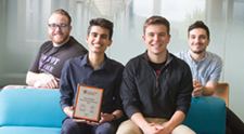 HC Students Recognized with Global Consciousness Award
