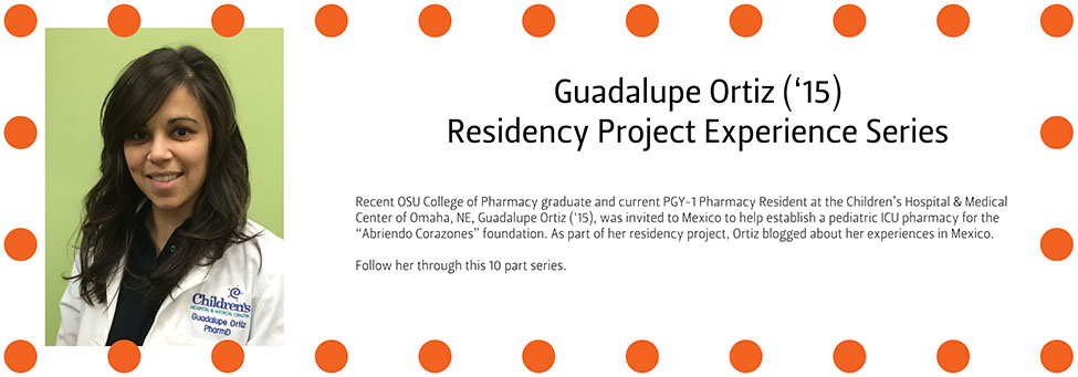 Guadalupe Ortiz ('15) Residency Project Experience Series Part 2