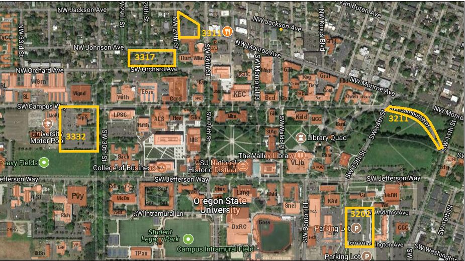 Linn Benton Community College Campus Map.News And Communication Services At Oregon State University