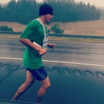 health run 1-5 in the rain