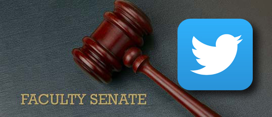 Twitter and the Faculty Senate