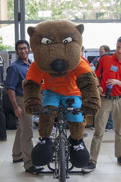 Benny-on-bike