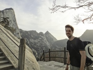 "One of Matt Johnston's most memorable hikes was on the ""treacherous and spectacular"" trail up the Hua Shan mountain in China."