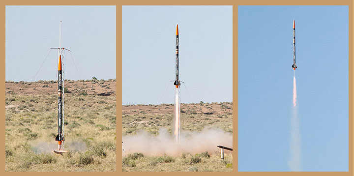 Oregon State AIAA Club rocket.