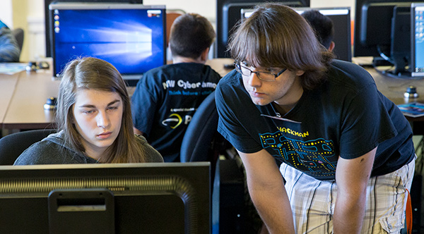 Zander Work at NW Cyber Camp
